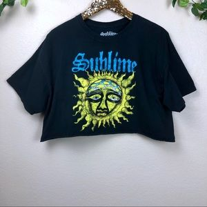 Sublime • Cropped Graphic Tee